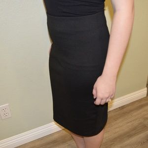 Skirts - Black Pencil Skirt